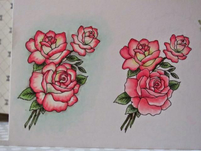 Drawn rose creative Far photo the idea on