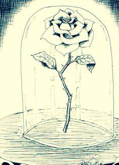 Drawn rose cute Tumblr  Cute the ideas