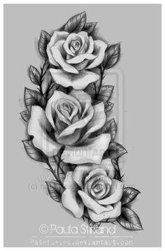 Drawn rose deviantart For Amber 10 hatefueled Rose