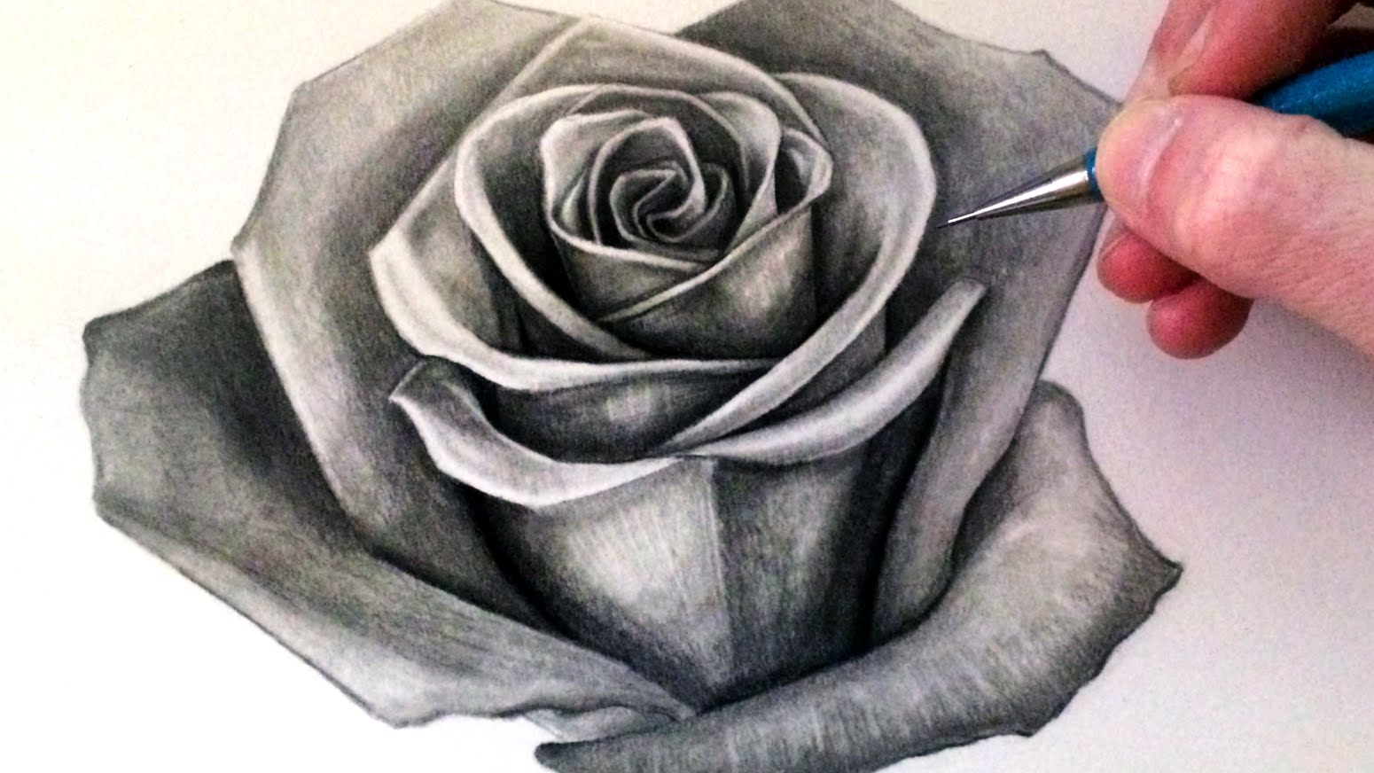 Drawn rose draw a Rose to How Draw