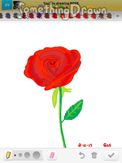 Drawn rose draw something Drawn com by SomethingDrawn Art