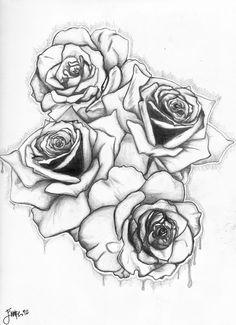 Drawn rose fancy Sketch rose Roses Gallery