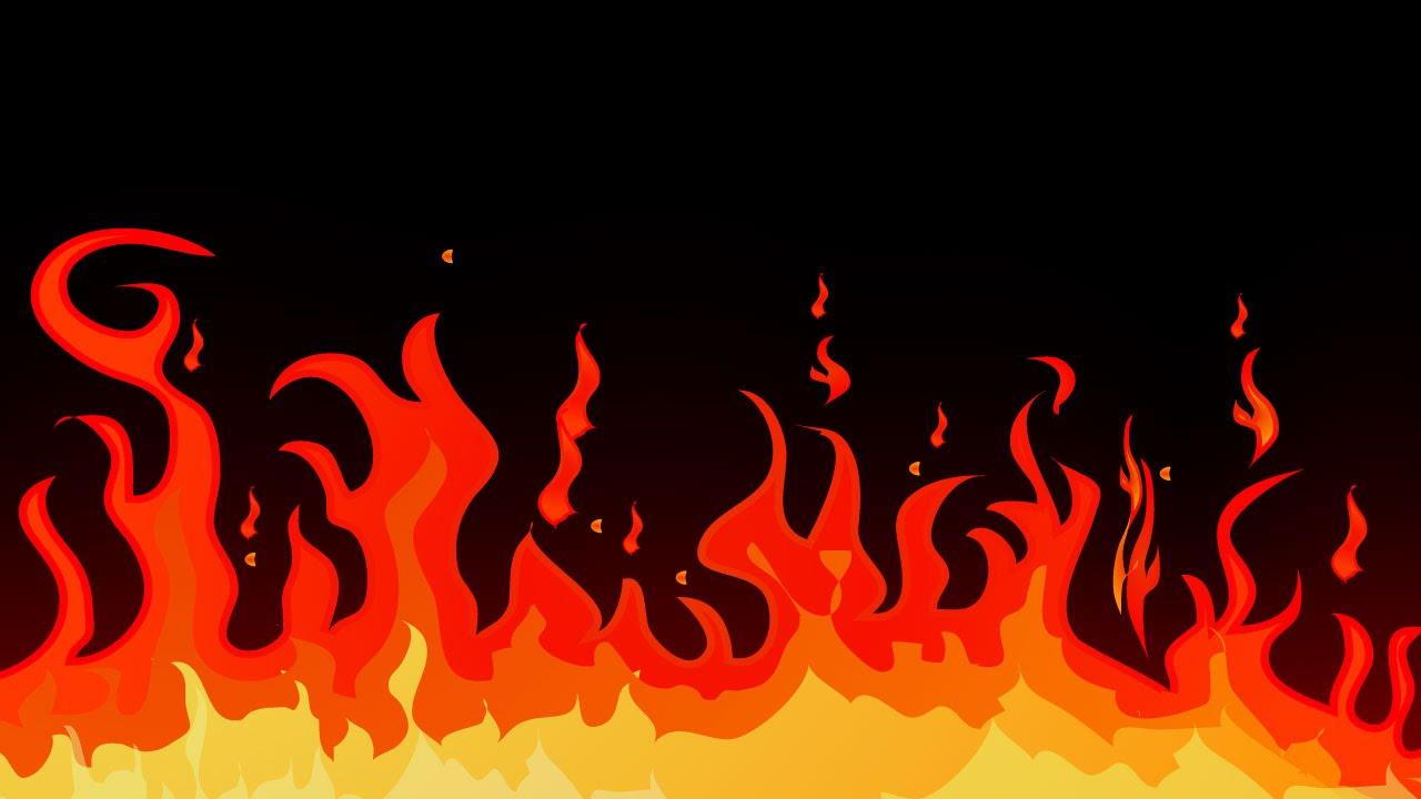 Drawn rose flame Adobe to in draw Adobe