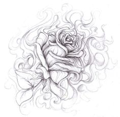 Drawn rose gangster Idea a tattoo  Drawings