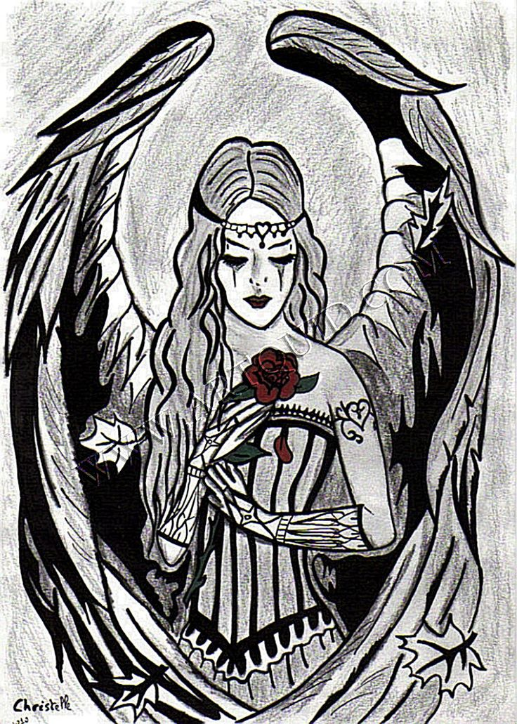 Drawn rose gothic Cool Pinterest  Drawings Best