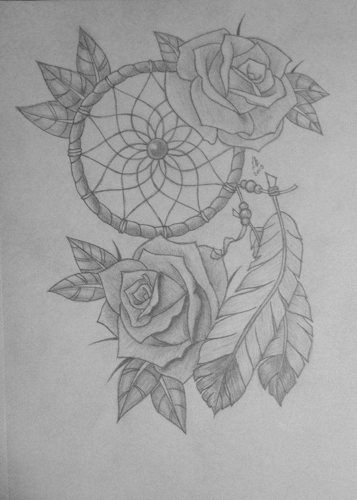 Drawn rose hard Pinterest Dream Dream Roses Catcher