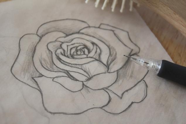 Drawn rose hard Be Roses If Bloglovin' drawing