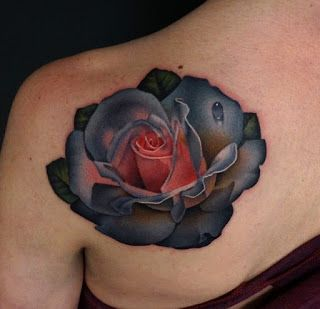 Drawn rose i love you Tattoo there! Best drawing in