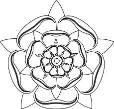 Drawn rose line art B>Tudor</b> line  tudor <b>rose</b>
