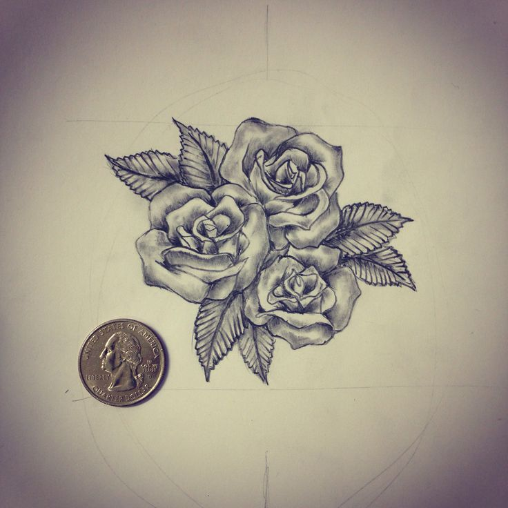 Drawn rose little rose 25+ tattoos Small / Best