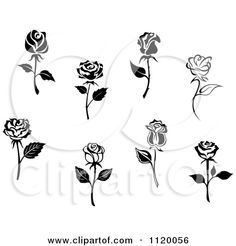 Drawn rose little rose Seamartini 20+ Clipart Flowers by