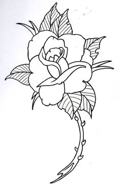 Drawn rose love Actual Wow Drawing Rose Heart