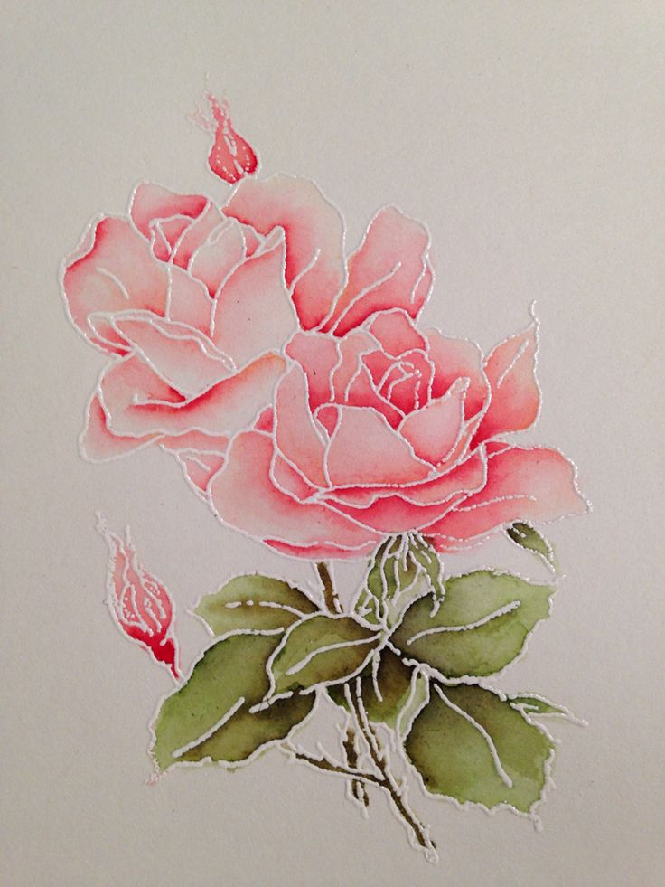 Drawn rose marker With Best on markers markers