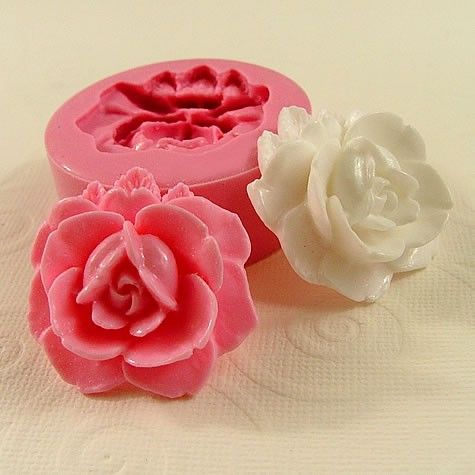 Drawn rose open Crafts Rose Silicone Mould Best