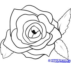 Drawn rose open How 8 Pictures  Step