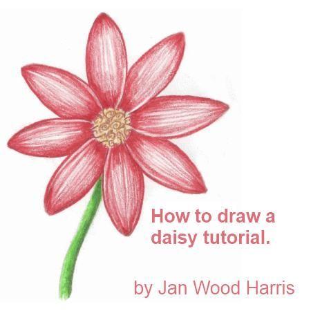 Drawn plant beautiful flower To Easy flowers Best Pinterest