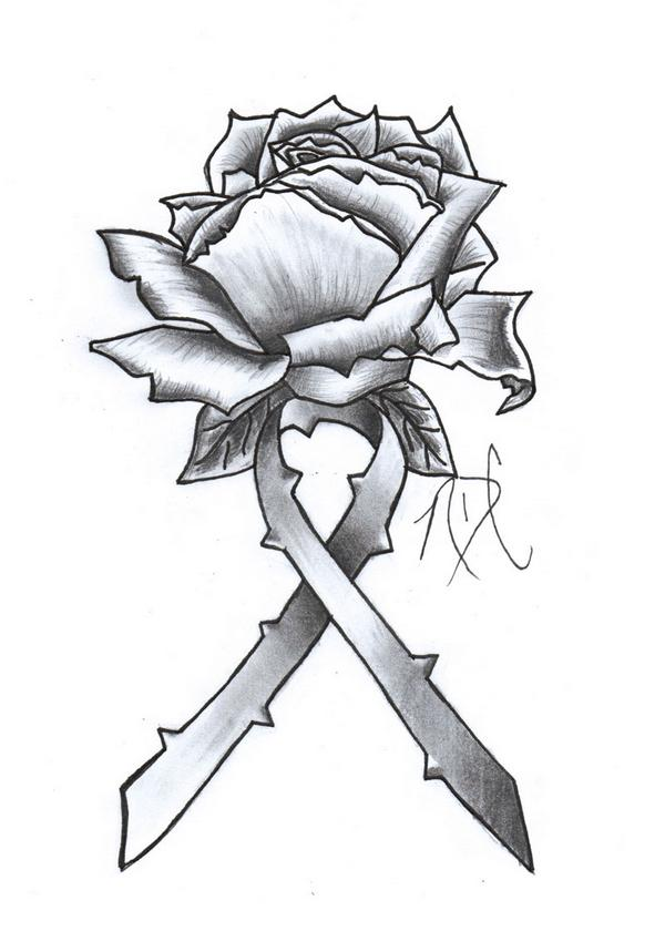 Drawn ribbon rose ribbon By Ribbon Rose Design