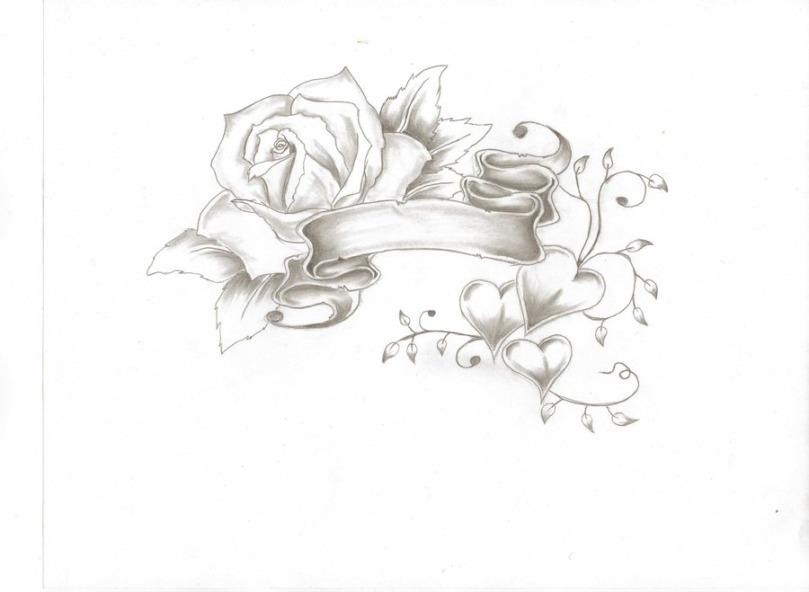 Drawn rose rose banner Banners by lildevel94 DeviantArt thatdomguy