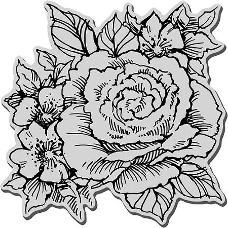 Drawn rose rose cluster On Get Cling Cluster Cheap