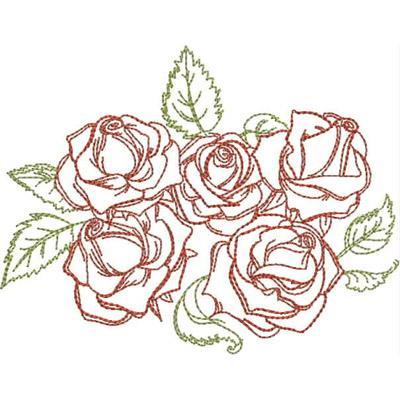 Drawn rose rose cluster Chart Cluster RRR Kreations Info