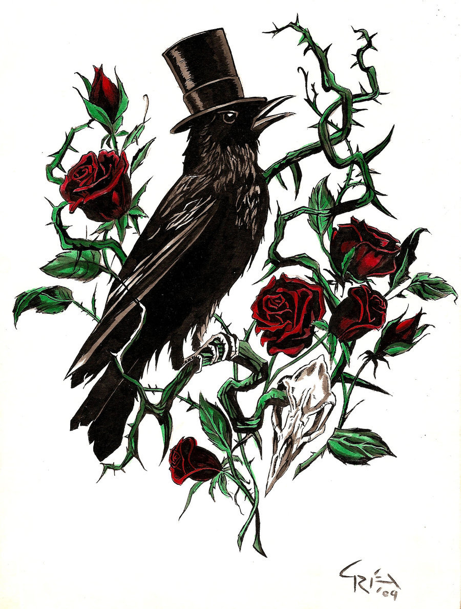 Drawn rose rose thorn Thorn by DeviantArt thorn and