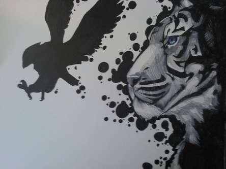 Drawn rose sharpie Art Drawing Gallery Tiger Drawings