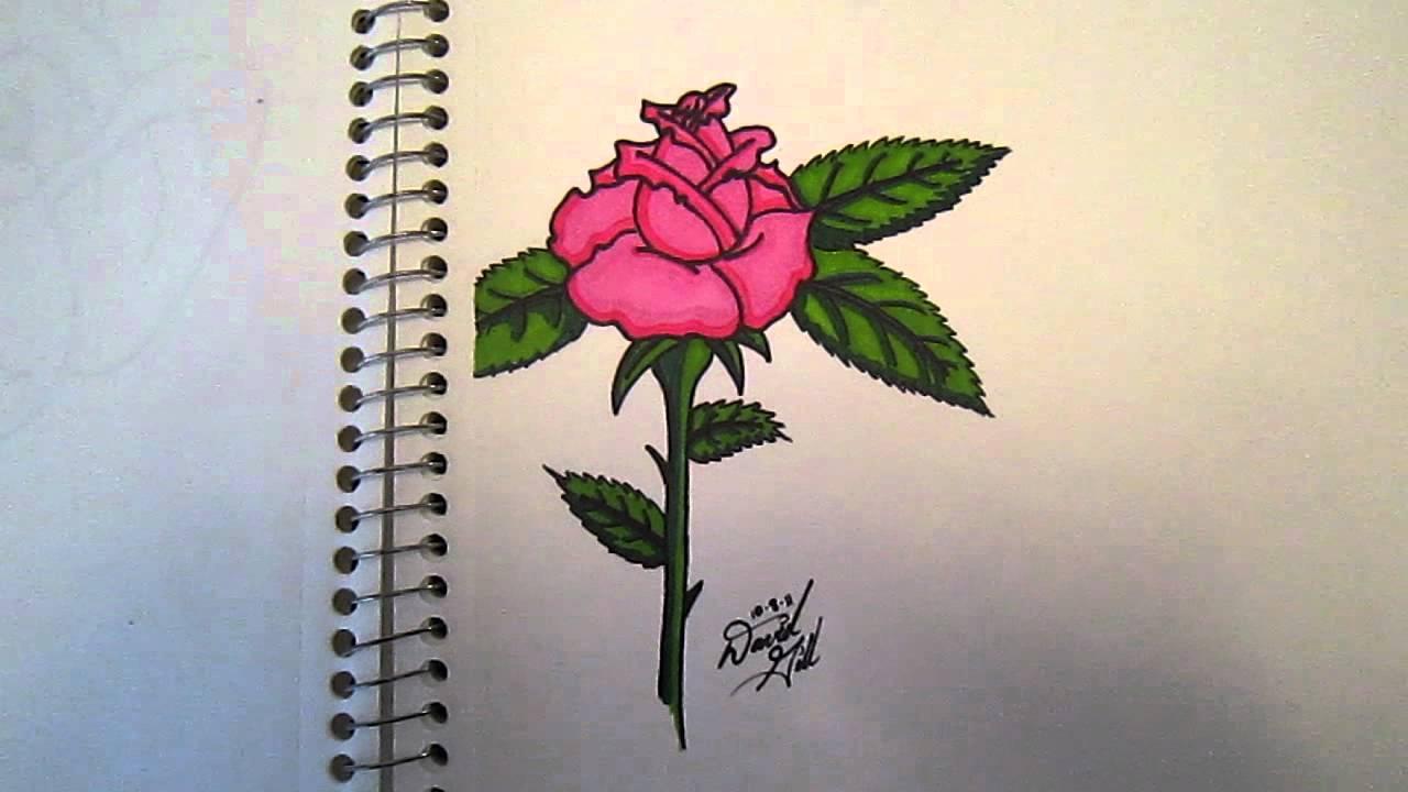 Drawn rose sharpie A rose rose Sharpie Sharpie