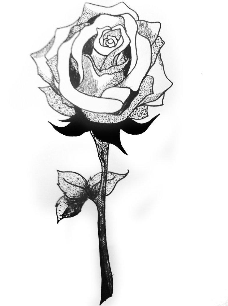 Drawn rose sharpie By Rose NeverScreamKendyl Sharpie Sharpie