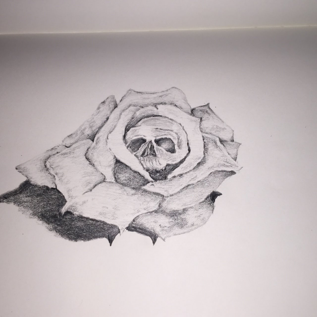 Drawn rose simple realism Realism How Realistic Drawings Collection