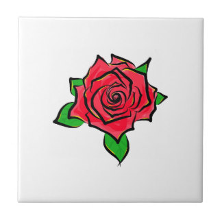 Drawn rose small Ceramic Drawing Roses Art Painting