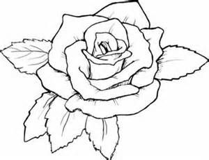 Drawn rose small On images Roses Drawing more
