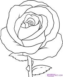 Drawn rose step by step A on How more Draw