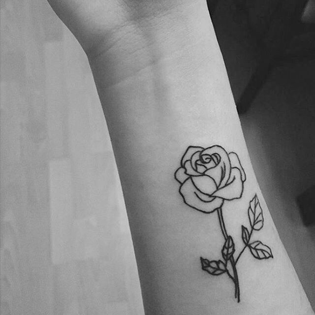 Drawn rose tiny rose Best on 25+ ideas Pinterest
