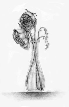 Drawn rose wilted On Ehlana  Check sketch