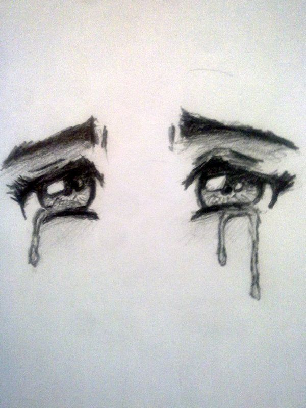 Drawn sad Ideas eye emo sad 25+