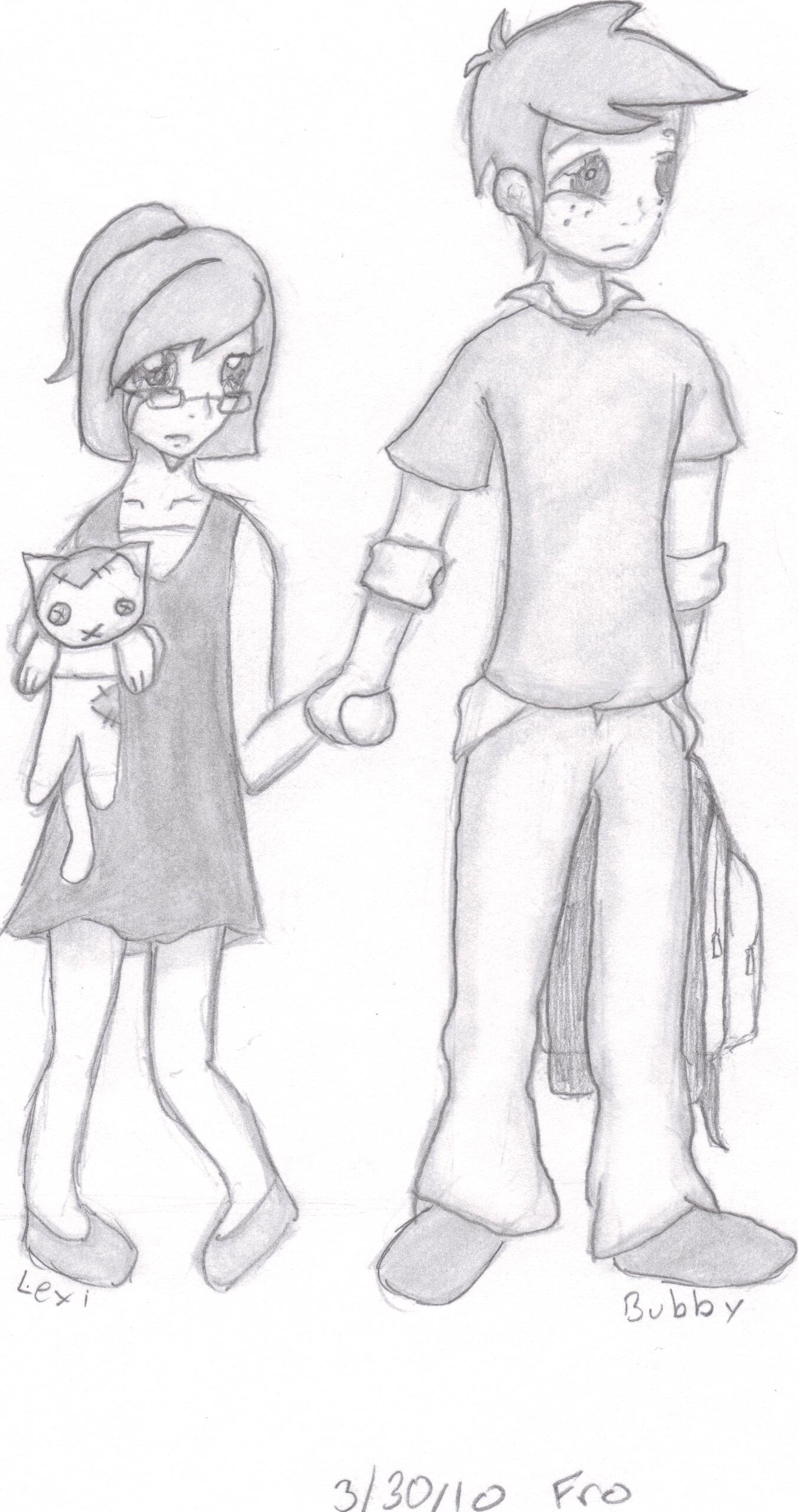 Drawn sad Realized mood the why them
