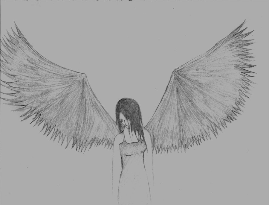 Drawn sad angel Source: Angel Vvisitingmexico Images: Easy