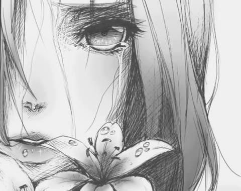 Drawn sad anime Best of this on 185