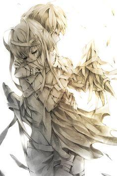 Drawn sad gothic Anime #cute & I so