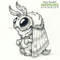 Drawn sad monster Drawings monster drawing cute Pinterest
