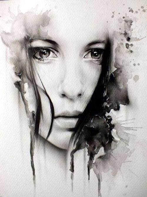 Drawn sad realistic Photo Realistic Art Drawing Drawing