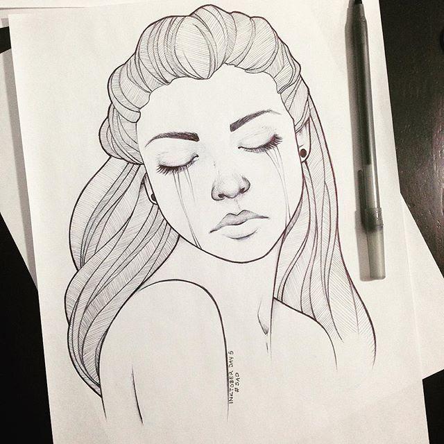 Drawn sad sad person Bella DrawingsDrawing Pinterest Sad on
