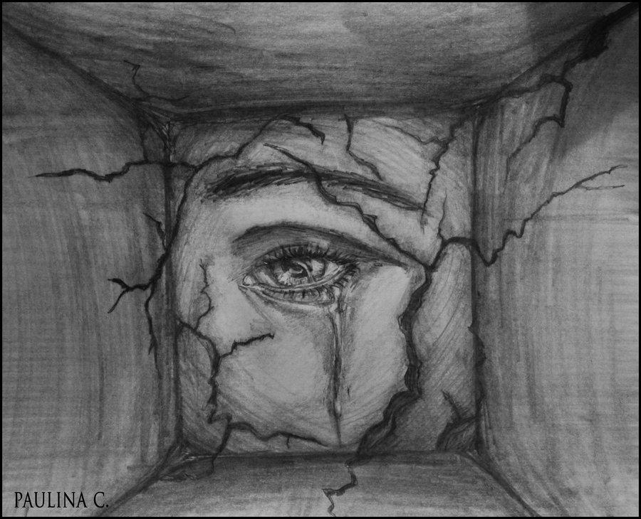 Drawn sadness Pinterest Eyes  eyes #Tonight