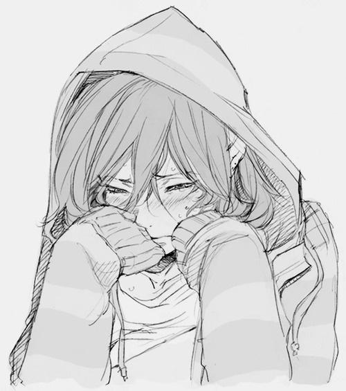 Drawn sad anime Pinterest 176  anime/manga and
