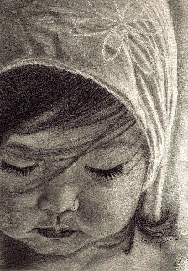 Drawn spirit sketch On Children 50 Realistic Portrait
