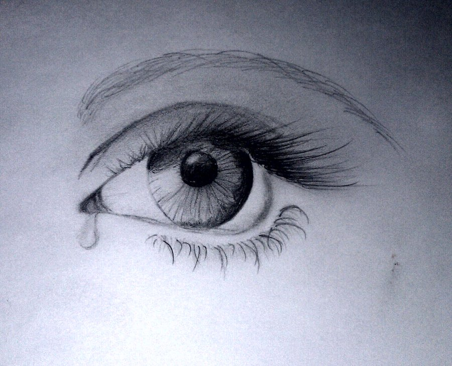 Drawn sad dark Sad Sad Tears Eyes Tears