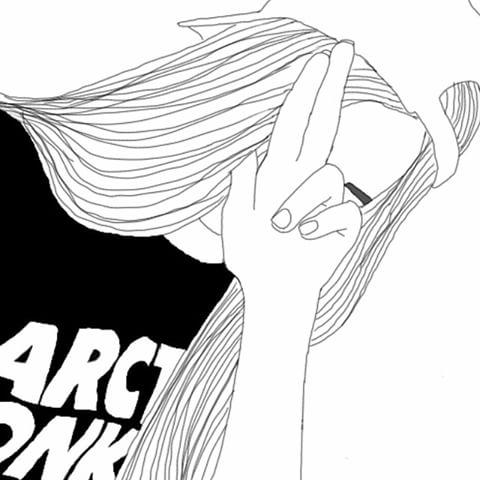 Drawn sad soft grunge #grungelife  # #softgrunge #grunge