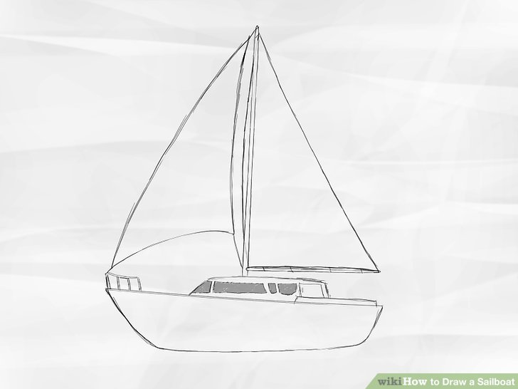 Drawn sailing Titled 4 to Draw Draw
