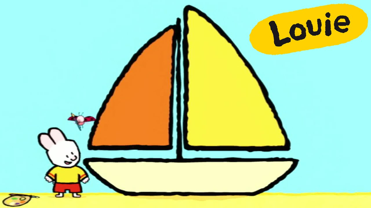 Drawn sailboat For YouTube Louie draw Boat