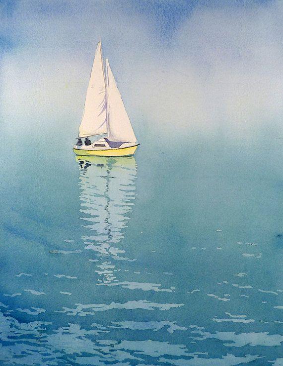Drawn sailboat painted Sail Ideas 346 Pinterest this
